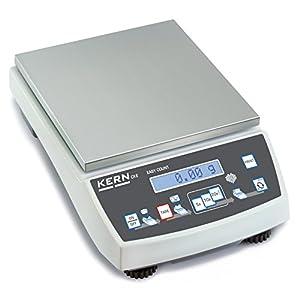Präzisionswaage [Kern CKE 2000-2] Selbsterklärende Zählwaage mit Laborgenauigkeit, Wägebereich [Max]: 2 kg, Ablesbarkeit [d]: 0,01 g, Reproduzierbarkeit: 0,01 g, Linearität: 0,03 g, Kleinstes Teilegewicht [Zählen] g/Stück: 0,01 g, Wägeplatte: BxT 150×170 mm (Edelstahl)
