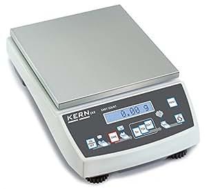 Balance de précision [Kern CKE 3600-2] Balance de comptage auto-explicative avec précision de laboratoire, Portée [Max]: 3,6 kg, Lecture [d]: 0,01 g, Reproductibilité: 0,01 g, Linéarité: 0,05 g, Poids min. par pièce [Comptage] g/pièce: 0,01 g, Plateau de pesée: LxP 150x170 mm (Inox)