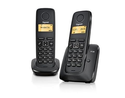 Gigaset A120 Twin DECT Cordless Phone Set -