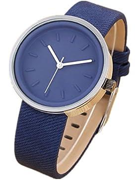 LI&HI Retro Unique Damen accessories Mode Freizeit Uhren Armbanduhr Quarz uhr Anhänger Lederarmband Uhr Top Watch...