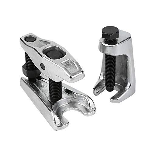 WEIWEITOE-DE 2 Teile/Satz Chrom-Vanadium Stahl Wärmebehandelt Silber Vertikale Kugelgelenk Puller Removal Seperator Auto Repair Tool Set, Silber, -