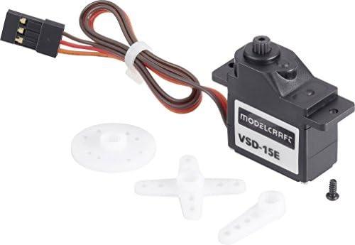 Modelcraft mini servoVSD-15E servoVSD-15E servoVSD-15E monté sur simple rouleHommes t à billestransmission matière plastique JR | Dans Un Style élégant  1e3970