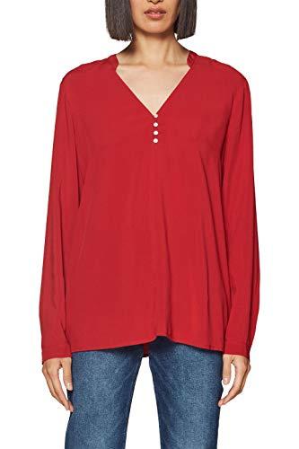 ESPRIT Damen Bluse 128EE1F008 Rot (Red 630) 36