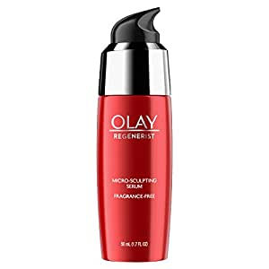 Face Serum with Collagen Peptide by Olay Regenerist, Fragrance Free Micro-Sculpting, Advanced