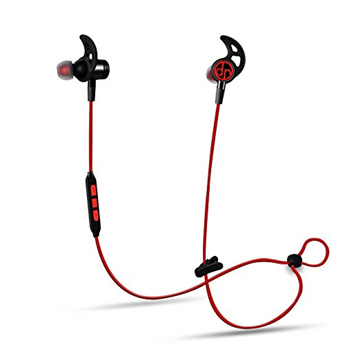 Bluetooth Kopfhörer Dr Rock 4.1 In Ear Kopfhörer Wireless Sport Headset Headphone mit IPX7 Wasserdicht Ohrhörer mit Magneten/Mic für iPhone 7 7Plus 6 6S Android Gerät bis zu 8 Stunden Betriebszeit.
