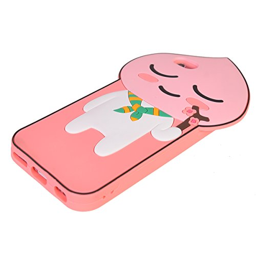 iPhone 6/ 6S Coque,COOLKE Mode 3D Style Cartoon Gel Soft silicone Coque Housse étui Case Cover Pour Apple iPhone 6/ 6S (4.7 inches) - 010 010