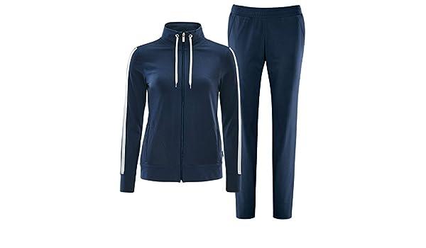 Schneider Sportswear Damen Fitness Anzug KESHIAW blau Gr/ö/ße:36