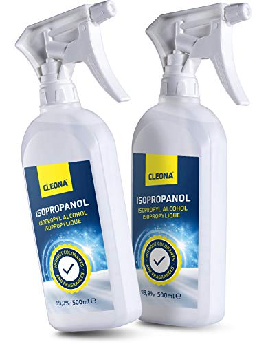 alcohol para limpiar y desinfectar