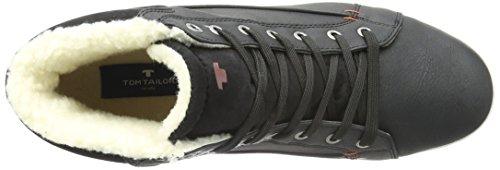 Tom Tailor 8589902, Baskets Basses Homme Noir - Noir