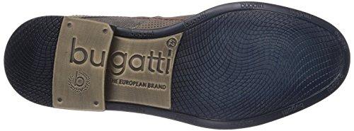 Bugatti - R09021g6, Scarpe stringate basse derby Uomo Marrone (Braun (braun/beige 604))
