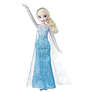 Disney Frozen Classic Fashion Doll Elsa, Toy Doll for 3 Year Old and Up