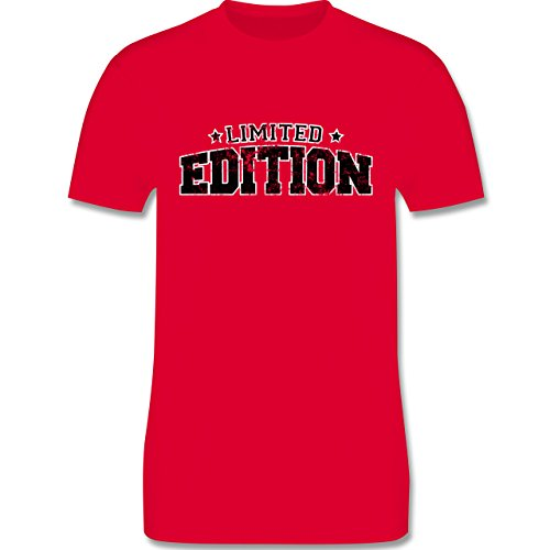 Statement Shirts - Limited Edition Vintage - Herren Premium T-Shirt Rot
