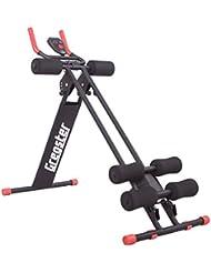 Gregster AB Plank Bauchtrainer mit Trainingscomputer, 4-facher Schwierigkeitsgrad, zusammenklappbar