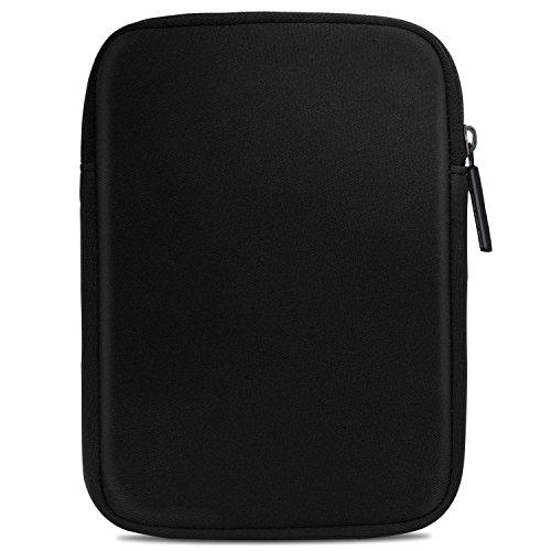 MoKo Kindle Paperwhite / Kindle Voyage Sleeve Hülle - Tragbare Neopren Schutzhülle Tasche für Amazon Kindle Paperwhite / Voyage /6 inch Kindle Oasis / Kindle 8. / HD 6 6 Zoll, Schwarz