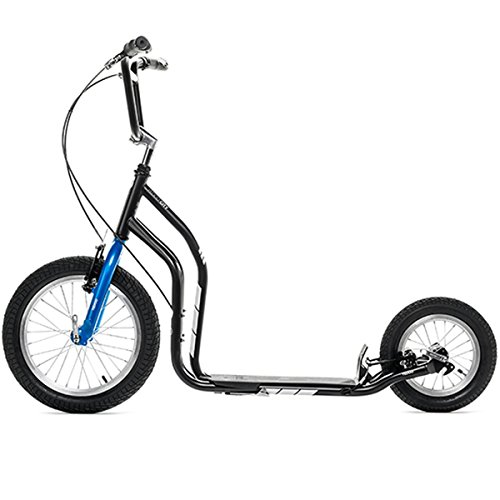 Yedoo Scooter/Tretroller CITY - NEW Model 2014 (Schwarz-Blau)