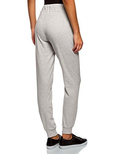 oodji Ultra Femme Pantalon en Maille (Lot de 2) Multicolore (19J1N)