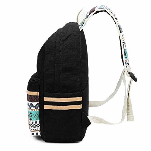Imagen de chereeki  de lona casual  bolsa de viaje bolso del ordenador portátil para teenage girls boys alternativa