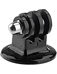 Goliton® - Adaptateur de fixation pour Gopro Hd Gopro Hero sur Monopode ou trépied - Noir