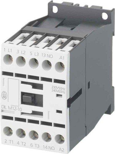 Eaton 290093 Leistungsschütz, 3-polig + 1 Öffner, 7, 5 kW/400 V/AC3 -
