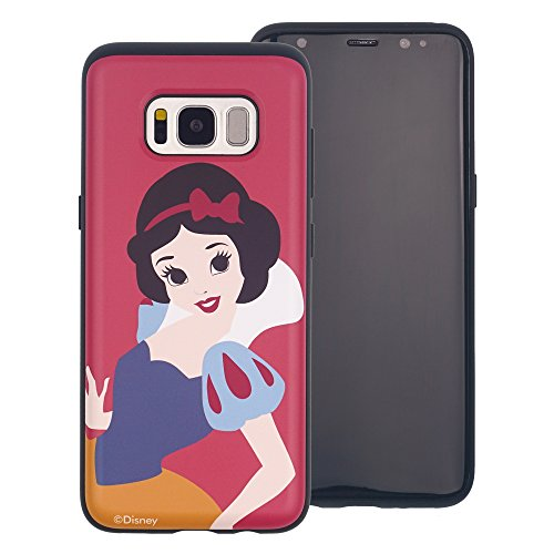 Galaxy Note 8 Schutzhülle, Disney Süße Prinzessin Layered Hybrid [TPU + PC] Bumper Cover [Shock Absorption] für Samsung Galaxy Note 8, Snow White Red (Galaxy Note8)