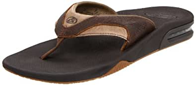 REEF Homme - LEATHER FANNING 2416 - brown brown, Taille:50