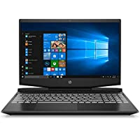 HP Pavilion Gaming 15-dk0007ne 15.6 inches LED Laptop, Intel i7-9750H 2.6 GHz, 16 GB RAM, 1 TB HDD + 256 GB SSD, Nvidia GeForce GTX 1660Ti 6 GB with Max Q Graphics, Windows 10, Eng-Ara KB - Black
