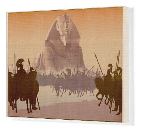 Canvas Print Of Sphinx - Alexander Era