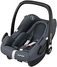 Maxi-Cosi Rock i-Size Silla Auto Grupo 0+, portabebé aprobado para viajar en avion, silla coche bebé recién na