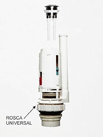 Mécanisme de chasse d'eau double poussoir universel/économie d'eau