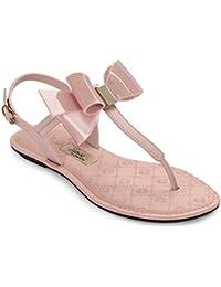 Grendha Sense Bow Sandal, T-Strap Sandales femme