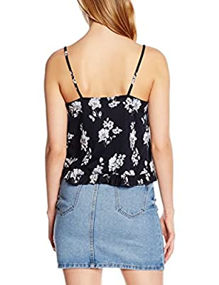 New Look Women's Peplum Tank Top
