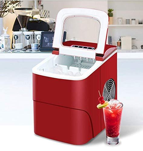 gogobest 15 KG Kommerziellen/Haushalt Eismaschine Milch Tee Shop/Cafe/Cold Drink Shop Eiswürfelmaschine Edelstahl Eismaschine (15-minuten-trocken-reiniger)