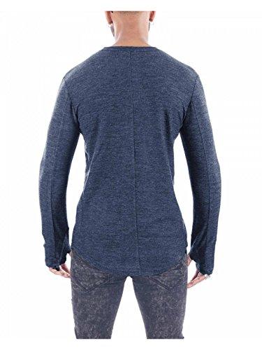 Project X Paris Herren Pullover Blau
