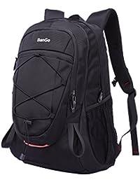 Zeewoo Mochila de senderismo de 40 l para deportes al aire libre, escuela, viajes, escalada, camping, gran capacidad, impermeable, mochila para hombre y mujer