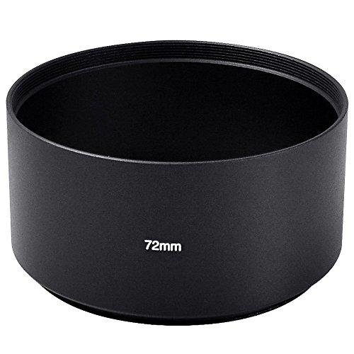MENGS® 72mm Aluminium Tele Gegenlichtblenden für Canon/Nikon/Sony/Fuji/Pentax/Olympus etc alle Arten von Digital Kamera und DSLR -