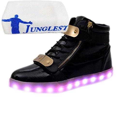 [Présents:petite serviette]JUNGLEST® - Baskets Lumine Vernis High-Top Noir