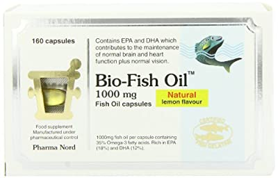 Pharma Nord 1000mg Bio-Fish Oil 160 Capsules