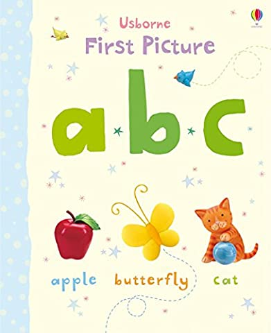 First Picture ABC (Usborne First Picture