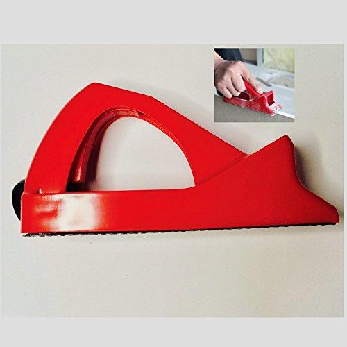 Grinder Trockenbau Gips Platte Gipskarton Rasentrimmer Sander Polierer Schleifmittel edge-finishing Glatte Naht Hand Werkzeug (Edge-finishing)