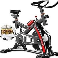 Monociclos Bicicleta de Deporte Fitness Fitness pérdida de Peso Fitness Bike Indoor aeróbic Bicicleta (Color : Black)