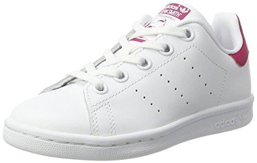 the latest e59df 2049d adidas Stan Smith C, Scarpe da Ginnastica Basse Unisex-Bambini, Bianco  (Footwear