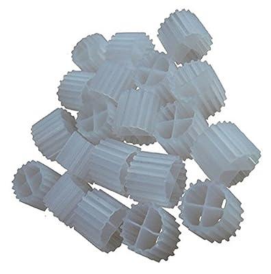 3,5L [K1] Micro Filtre médias Déménagement Lit Biofilm réacteur (mbbr) pour aquaponie & # x2022?; L'aquaculture & # x2022?; Hydroponie & # x2022?; étangs & # x2022?; Les Aquariums par CZ Jardin d'alimentation
