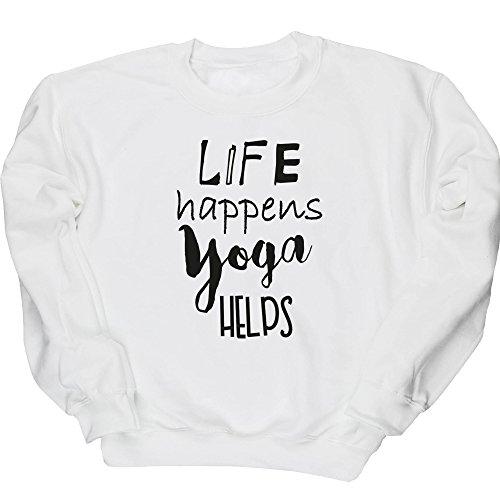 hippowarehouse-life-happens-yoga-helps-unisex-jumper-sweatshirt-pullover