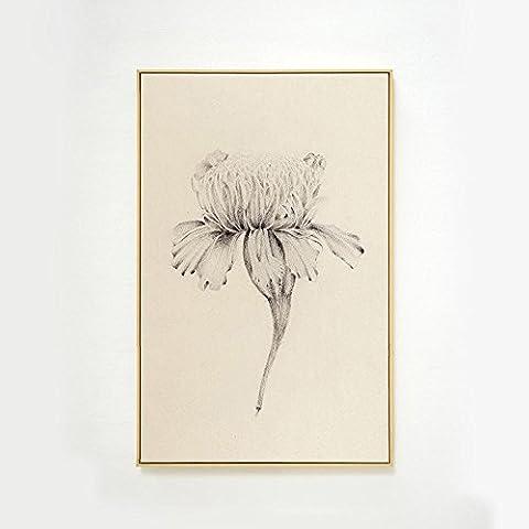 FamilyWall Moderne Minimalist Carnation Dekorative Malerei Vertikale Ausgabe , 50*70cm