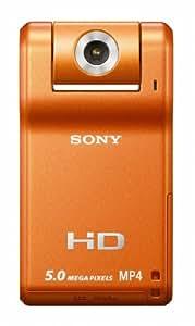 Sony MHS-PM1 Webbie HD-Schnappschuss Camcorder orange