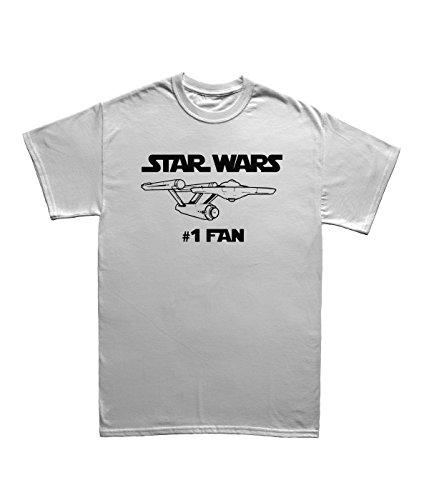 """Stars T Wars Shirts (Star War T-Shirt """"#number 1Fan"""" Gr. L,)"""