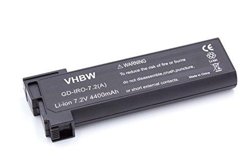 vhbw Li-Ion Batterie 4400mAh (7.2V) pour tondeuse robot, aspirateur iRobot Looj 330 comme 14570.