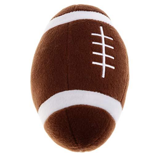 Babyball Rasselball Glockenball Ball Spielzeug für Innenbereich, Training der Baby der Gehen - Rugby