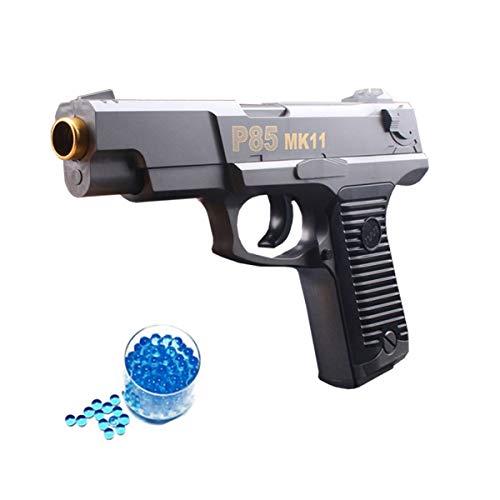 OYJD Wasserbombenpistole, manuelle Kapitän-Einzelhaar-Kristallpistole 1: 1 Kinder-Spielzeugpistole + 20000 Wasserbombe