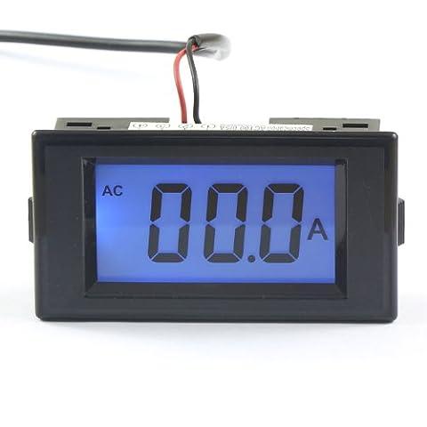 DEOK AC 100A Digital Ammeter LCD Ampere Panel Meter Amps Meter Tester